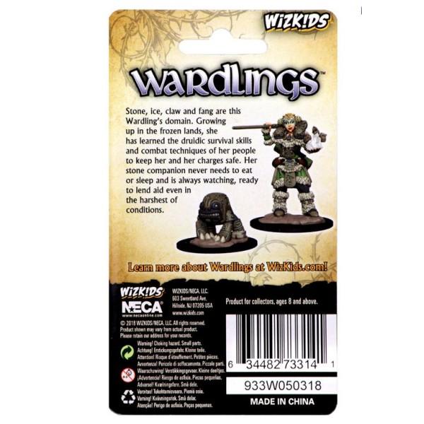 Wizkids - Wardlings - Girl Druid with Stone Creature