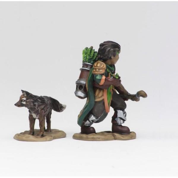 Wizkids - Wardlings - Boy Ranger and Wolf