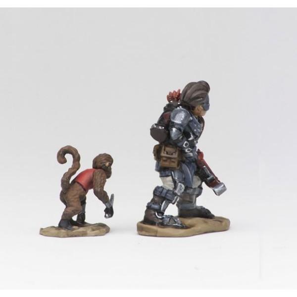 Wizkids - Wardlings - Boy Rogue and Monkey