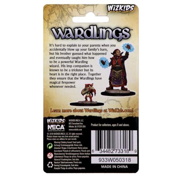 Wizkids - Wardlings - Boy Wizard and Imp