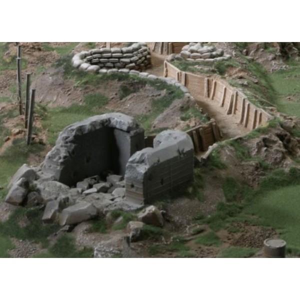 Ziterdes - Bunker 33 - Destroyed