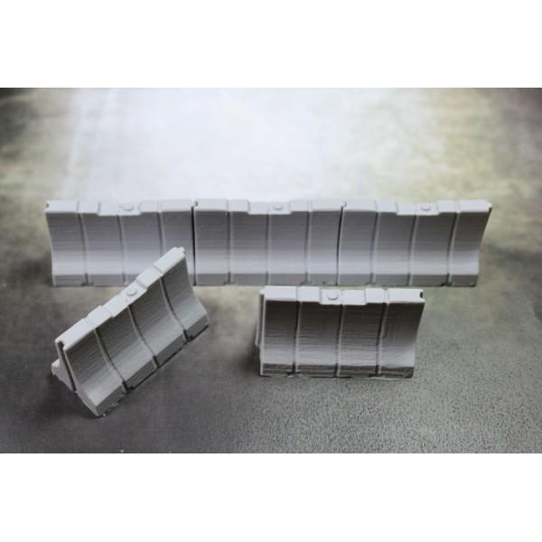 Secret Weapon - Plastic Jersey Barriers